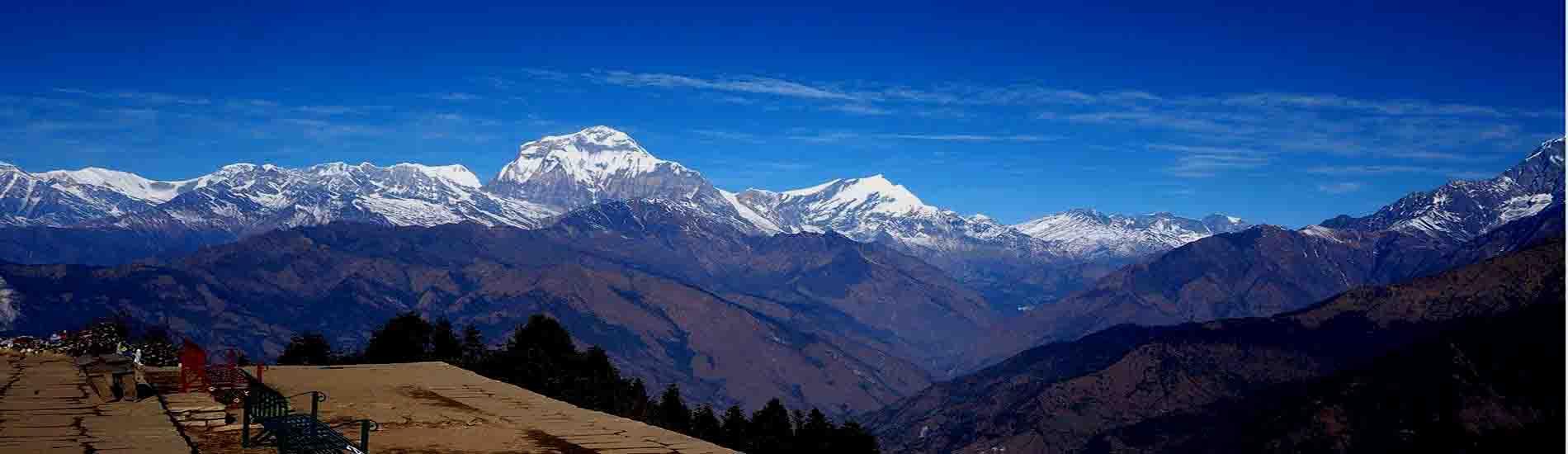 nepal trekking tours annapurna panorama reisen