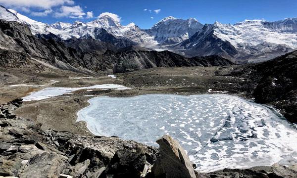 Everest hohe Pässe wandern