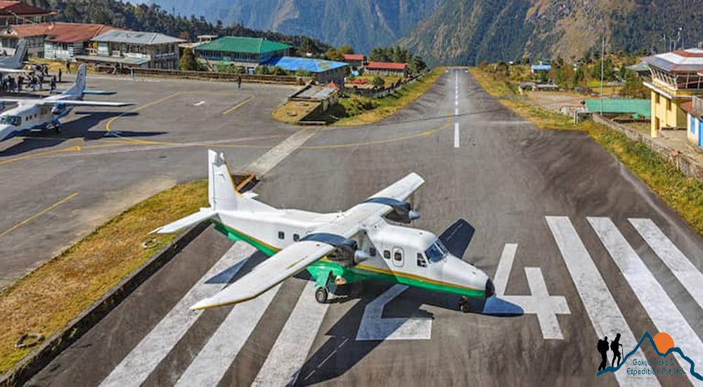 Lukla nach kathmandu fligen